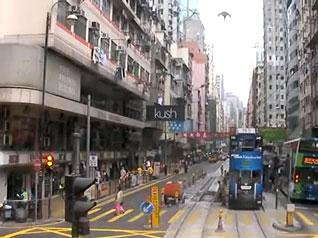 道路工事 - 香港トラム