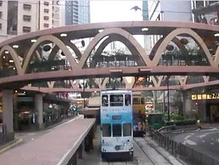 銅鑼湾 - 香港トラム