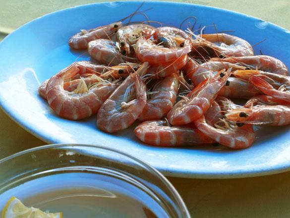 白灼蝦 ゆで蝦 - 西貢 (Sai Kung サイクン)