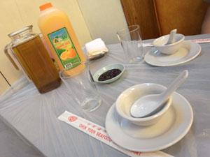 テーブル - 竹園海鮮飯店・九龍城