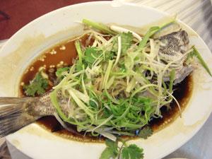 蒸し魚 - 竹園海鮮飯店・九龍城