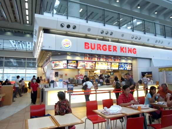 香港国際空港 BURGER KING バーガーキング
