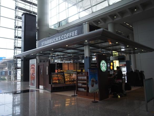 香港国際空港 STARBACKS COFFEE スターバックスコーヒー