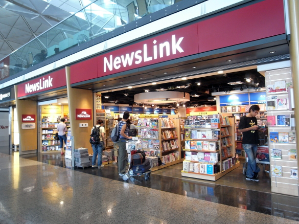 NewsLink - 香港国際空港 T1・6F出発フロア