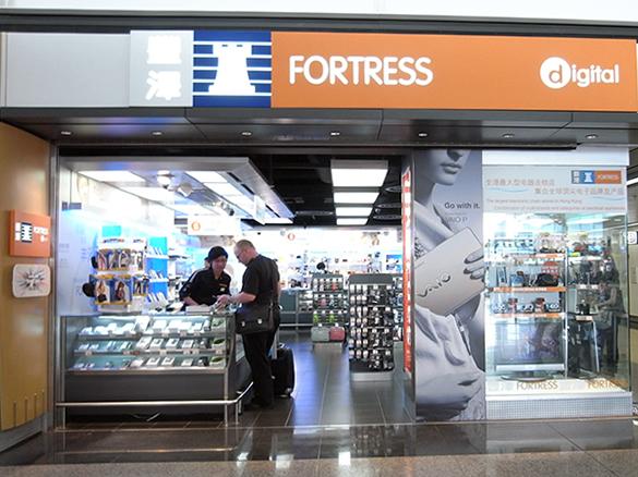 FORTRESS - 香港国際空港 T1・6F出発フロア