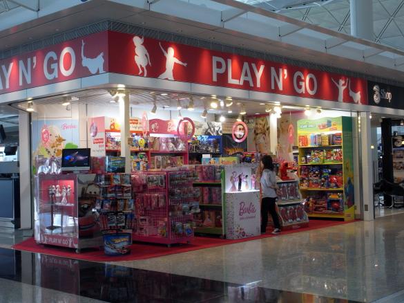PLAY N' GO - 香港国際空港 T1・6F出発フロア