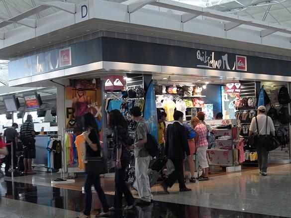QuickSilver - 香港国際空港 T1・6F出発フロア