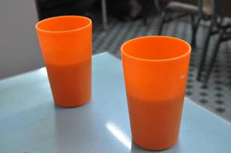 プラスチックカップ - 旺角・中国冰室