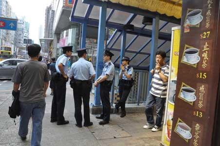警官 - 旺角・中国冰室