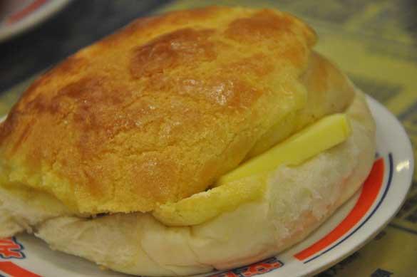 菠蘿油 - 金華冰廳