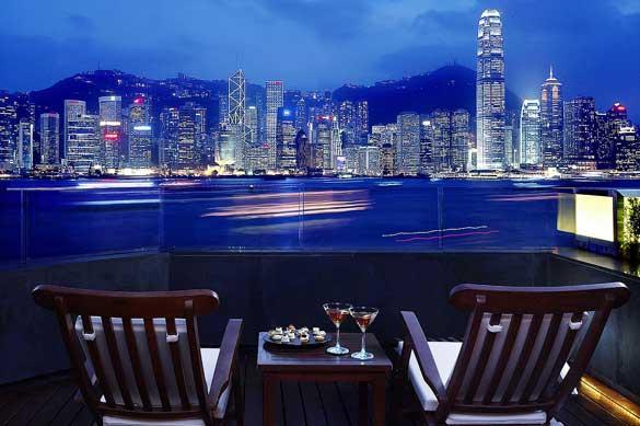 バルコニー - インターコンチネンタル香港