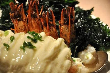 プリプリ蝦と卵白の炒め物 - 明閣 Ming Court