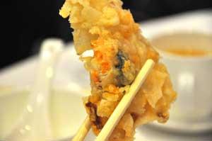 蟹のすり身の挟み揚げ - 名人坊高級粵菜