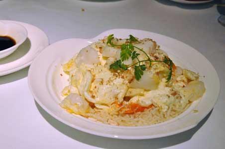 蟹皇帯子炒鮮奶 - 香宮
