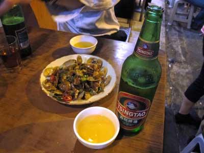青島ビール - 坤記煲仔小菜