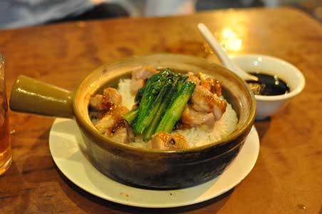 排骨煲仔飯 - 坤記煲仔小菜