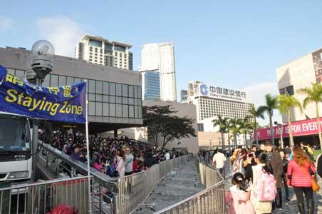 香港文化中心 - 香港の春節花火大会