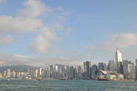 ビクトリア・ハーバー - 香港の春節花火大会