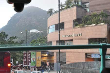 山頂廣場 - 香港の春節花火大会