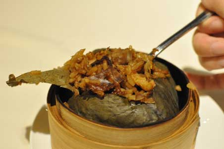 蓮の葉包みご飯 - 粵 Yue