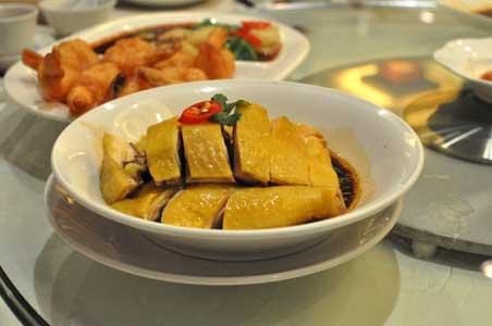 蔥油鶏 - 利苑 リーガーデン 九龍灣店