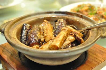魚香茄子煲 - 利苑 リーガーデン 九龍灣店