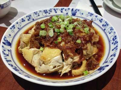 葱油鶏 - 廣東茶居 Canton Deli