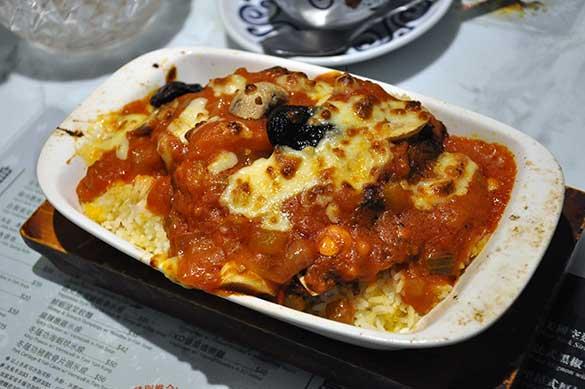 鮮茄西梅焗猪扒飯 - 翠華餐廳すいかレストラン