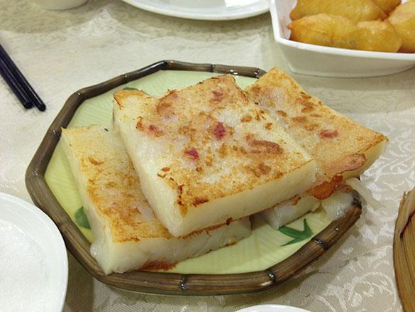 蘿蔔糕 ロー バーッ ゴウ(鳳城レストラン)