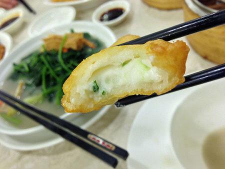 炸鲜奶 揚げミルク(鳳城レストラン)