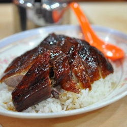 馳名脆皮燒鵝飯 - 一樂燒鵝