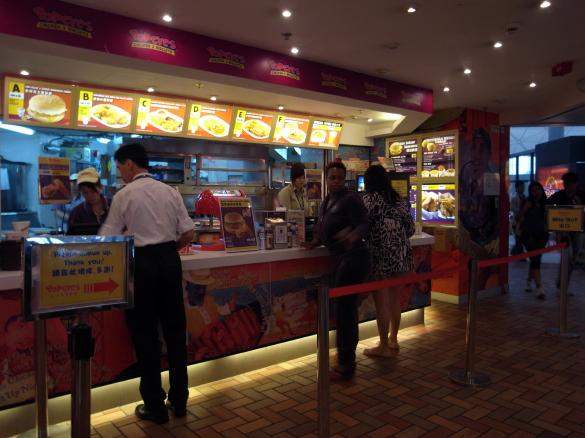Popeyes Chicken & Biscuits - 香港国際空港
