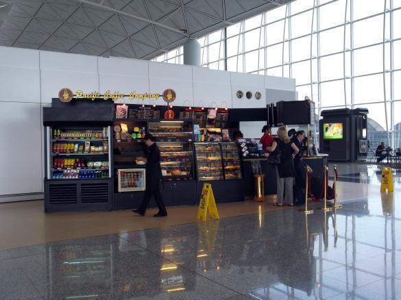 Pacific Coffee - 香港国際空港