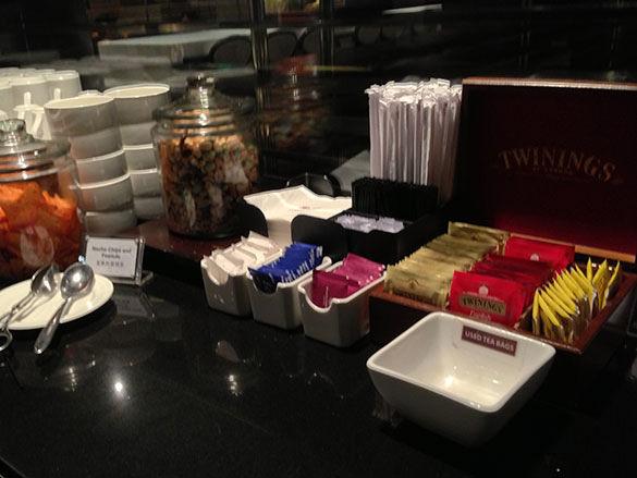 お茶のラインナップ - 香港国際空港 到着ラウンジ「プラザプレミアムラウンジ」
