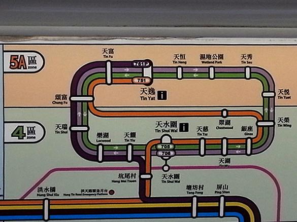 路線図 - 軽鐵 LRT