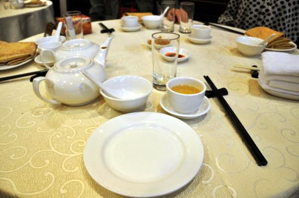 テーブル - 竹園海鮮飯店