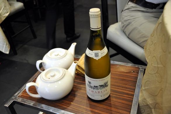 白ワイン - 竹園海鮮飯店