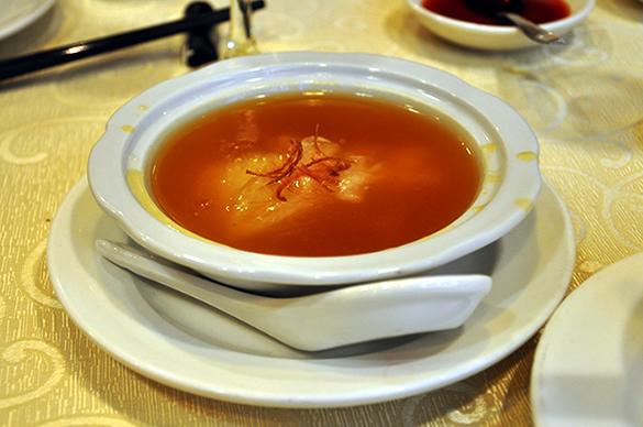 フカヒレスープ - 竹園海鮮飯店