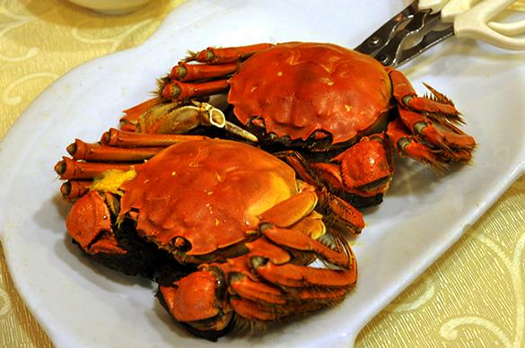 上海蟹 - 竹園海鮮飯店