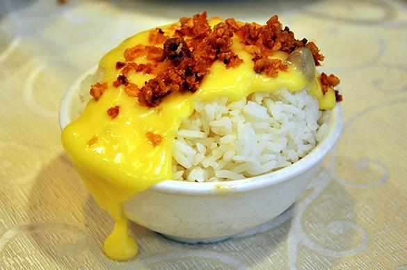 ロブスターのチーズがけご飯 - 竹園海鮮飯店