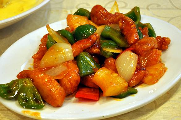 酢豚 - 竹園海鮮飯店