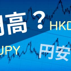 円高チャンス?最近の香港ドルって安いのかな?