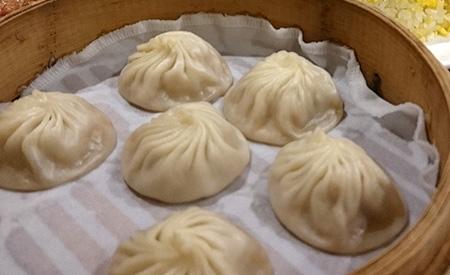 写真:上海料理の様子